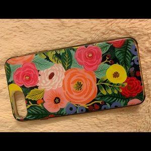 Rifle Paper Co Floral Juliet Case; iPhone 7+